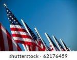 Usa Flags   Vibrant American...