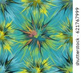 unusual seamless pattern with... | Shutterstock .eps vector #621767999