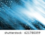 abstract global network... | Shutterstock . vector #621780359
