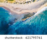 aerial photograph of halls head ... | Shutterstock . vector #621795761