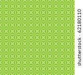 green pattern from geometrical...   Shutterstock . vector #62180110