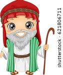 bible story illustration of a...   Shutterstock .eps vector #621806711