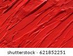 red lipstick texture background | Shutterstock . vector #621852251