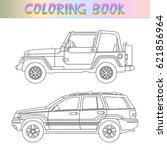 book coloring for children.... | Shutterstock .eps vector #621856964