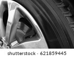 Small photo of Car Wheel/Alloy and Tyre
