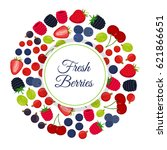 cartoon berries menu. raspberry ...   Shutterstock .eps vector #621866651