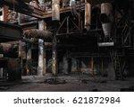 Half Ruined Metal Structures In ...