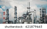 industrial zone the equipment... | Shutterstock . vector #621879665