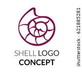 Shell Logo Concept. Vector...