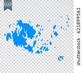 transparent   high detailed... | Shutterstock .eps vector #621899561