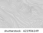 topographic map background... | Shutterstock .eps vector #621906149