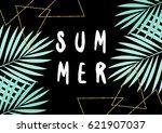 retro typographic summer design ...   Shutterstock .eps vector #621907037