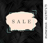 modern and stylish sale poster  ... | Shutterstock .eps vector #621907175