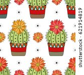 seamless pattern with colorful... | Shutterstock .eps vector #621914819