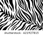 zebra print  animal skin  tiger ... | Shutterstock .eps vector #621927815