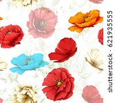 seamless background pattern.... | Shutterstock .eps vector #621935555