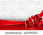 celebrate bow background ... | Shutterstock .eps vector #62194351