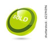 modern sold sign | Shutterstock .eps vector #62194396