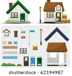 make your home icon | Shutterstock .eps vector #62194987