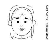 woman cartoon icon   Shutterstock .eps vector #621971399