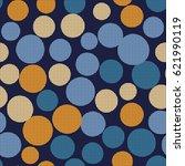 seamless dot background. vector ...   Shutterstock .eps vector #621990119