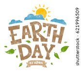 earth day banner  22nd april ... | Shutterstock .eps vector #621996509