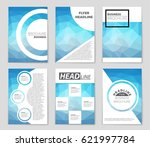 abstract vector layout... | Shutterstock .eps vector #621997784
