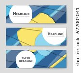 abstract vector layout... | Shutterstock .eps vector #622002041
