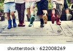 group of kindergarten kids...   Shutterstock . vector #622008269