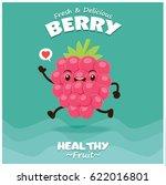 vintage berry poster design... | Shutterstock .eps vector #622016801