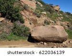 Recently Fallen Rock On Trail...