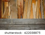 old wood planks with copy space
