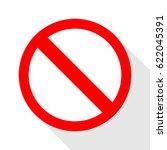 traffic sign icon vector. | Shutterstock . vector #622045391
