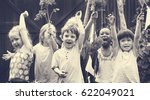 school student tour is a good...   Shutterstock . vector #622049021