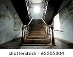 The Beautiful Wood Stairway In...