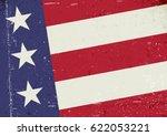 grunge united states of america ... | Shutterstock .eps vector #622053221