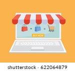 vector illustration. online...   Shutterstock .eps vector #622064879