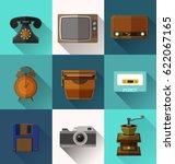 illustration of retro object ... | Shutterstock .eps vector #622067165