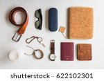 men's accessories and essential ... | Shutterstock . vector #622102301