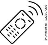 remote vector icon | Shutterstock .eps vector #622107209