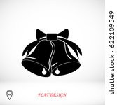 bells icon  vector best flat... | Shutterstock .eps vector #622109549