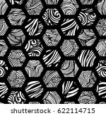 seamless background with... | Shutterstock .eps vector #622114715