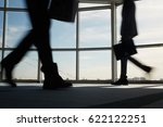 business staff hurrying for... | Shutterstock . vector #622122251