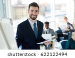 business leader looking at...   Shutterstock . vector #622122494