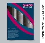 abstract flyer design... | Shutterstock .eps vector #622130909