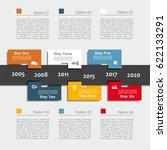 infographic design template... | Shutterstock .eps vector #622133291