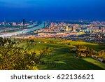 beautiful view of skyline of... | Shutterstock . vector #622136621