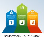 vector illustration. template... | Shutterstock .eps vector #622140359