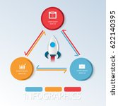 vector space illustration.... | Shutterstock .eps vector #622140395