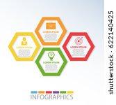 vector illustration. template... | Shutterstock .eps vector #622140425